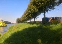 illegaal dumping afvalstoffen in Amsterdam Rijnkanaal